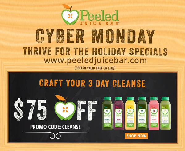 Cyber Monday Deals at Peeled