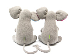Back view of large personalised elephants by cdbdi