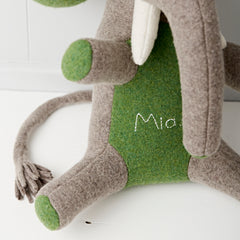elephant with green ears personalised by cdbdi