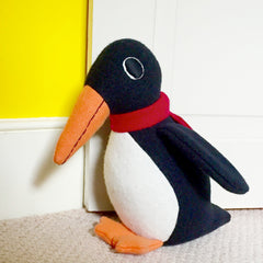 Personalised Penguin Door stop