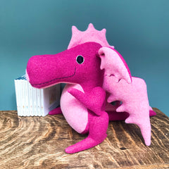 Dragon Soft Toy, Handmade And Personalised