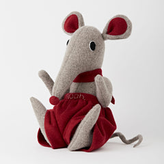 Shrew Large Cuddly Soft Toy White Background