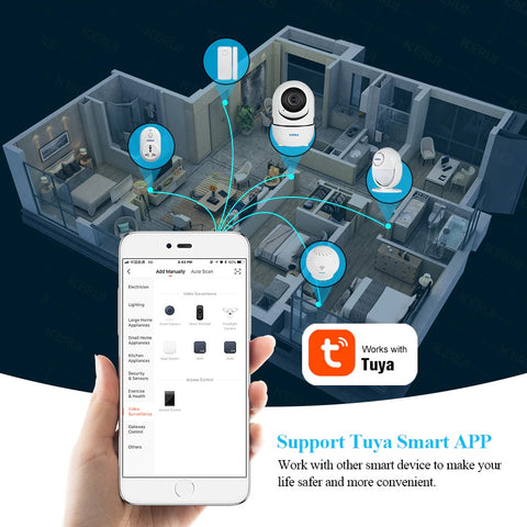 Wifi Home Security and baby Camera