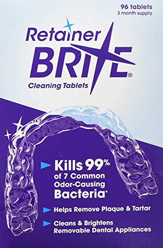 Retainer Brite 96 Tablets (3 Months Supply) : Beauty