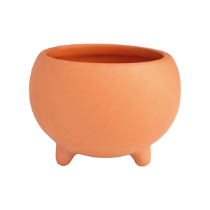 Mini Footed Terracotta Pot