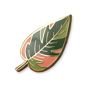 Pink Princess Philodendron - Enamel Pin