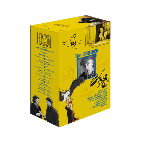 COFFRET 12 FILMS D'OTAR IOSSELIANI (7 DVD)