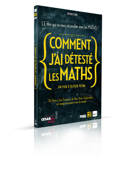 COMMENT J'AI DETESTE LES MATHS / HOW I CAME TO HATE MATHS (with English subtitles) - 2 DVD