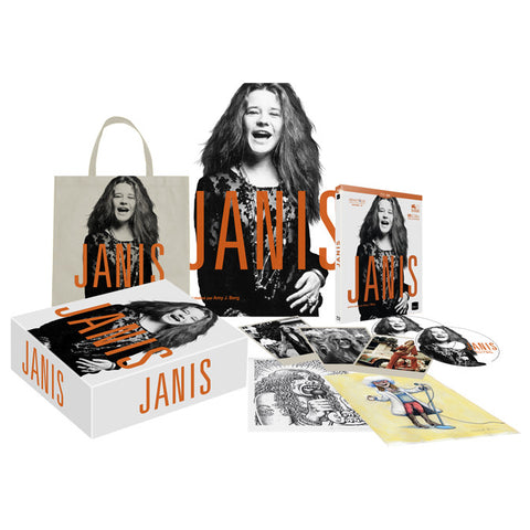 JANIS - COFFRET COLLECTOR (DVD/BR)