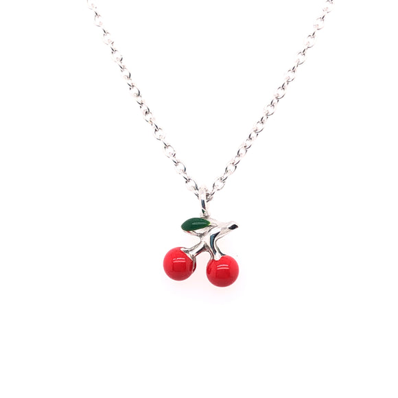 Red Cherry Necklace