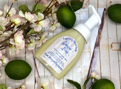 Jasmine-Lime Foaming Hand Soap  | Natural Hand Wash - Blue Dragonfly Acres LLC