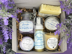 Lavender Gift Box I Deluxe - Blue Dragonfly Acres LLC