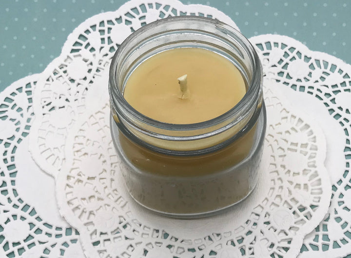 Vintage Lace Beeswax Candle - Blue Dragonfly Acres LLC