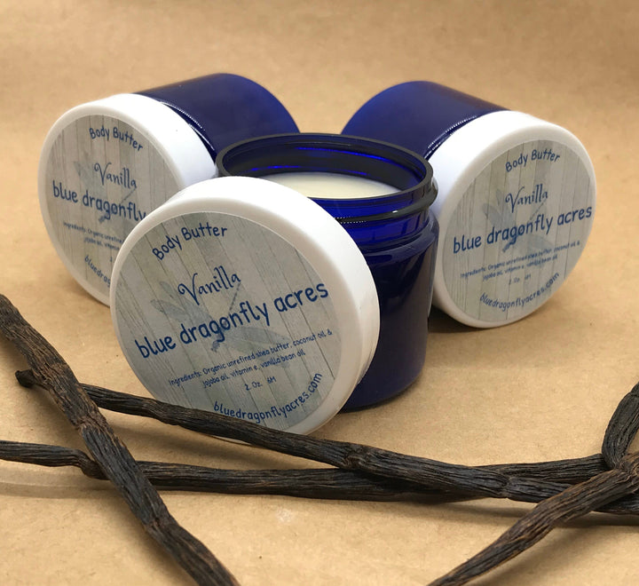 Vanilla Body Butter - Blue Dragonfly Acres LLC