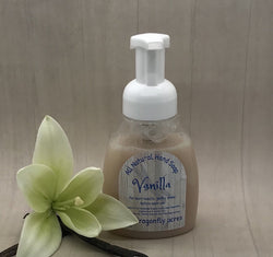 Vanilla Foaming Hand Soap - Natural Hand Wash - Blue Dragonfly Acres LLC