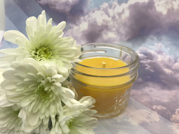 Heavenly Beeswax Candle - Blue Dragonfly Acres LLC
