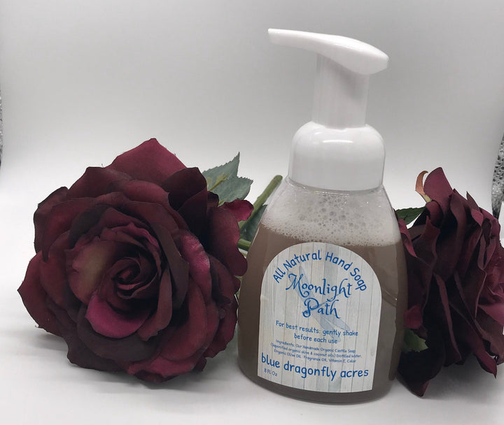 Foaming Hand Soap  - Moonlight Path | Natural Hand Wash - Blue Dragonfly Acres LLC