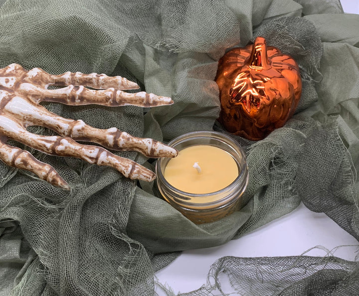 Witch's Brew Beeswax Candle - Blue Dragonfly Acres LLC