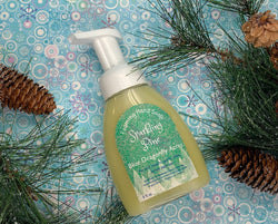 Sparkling Pine Foaming Hand Soap - Natural Hand Wash - Blue Dragonfly Acres LLC