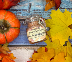 Pumpkin Pie Hand, Foot and Body Scrub - Blue Dragonfly Acres LLC