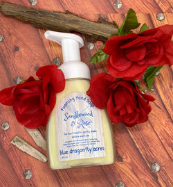 Sandalwood Rose Foaming Hand Soap - Blue Dragonfly Acres LLC