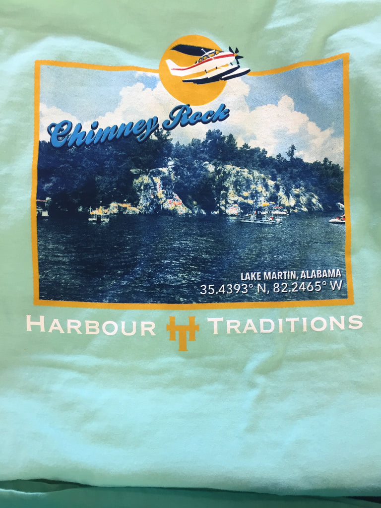 Location Tee-S/S-Chimney Rock-Lake Martin, Alabama
