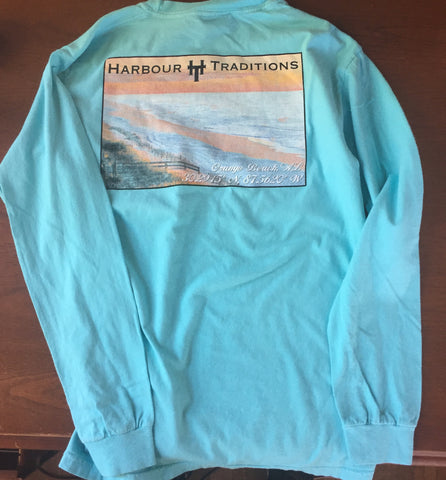 Location L/S Tee- Orange Beach, Alabama- OBA- L/S