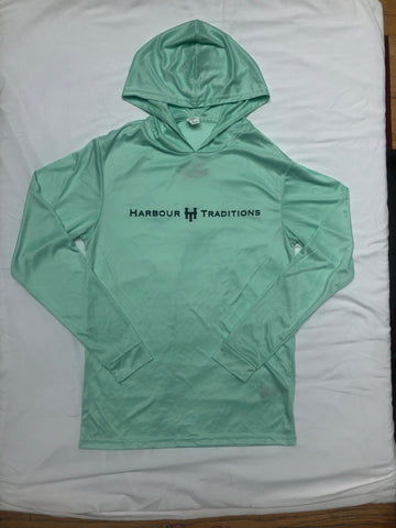 Fishing Shirt UPF50+ Mint Green/Hooded
