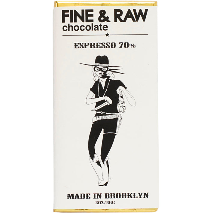 Fine and Raw Chocolate espresso bar - brooklyn bonnie collection