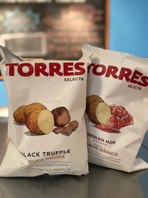 Torres Selecta -Black Truffle & Iberian Ham (2 packs of chips)