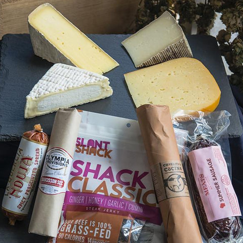 Cheese and Meat Gift Box