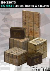 B635075 US M2A1 Ammo Boxes & Crates
