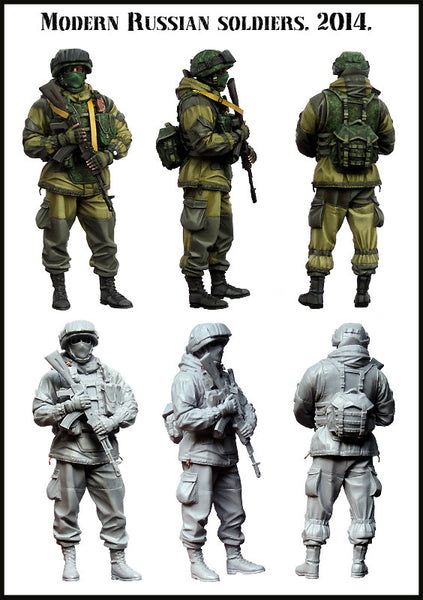 Modern Russian Soldier, 2014 set 3