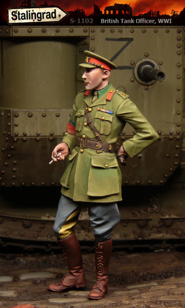 British Tank Officer WWI
