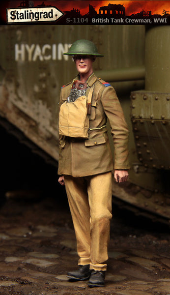 British Tank Crewman WWI