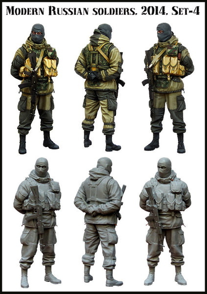 Modern Russian Soldier 2014 set 4