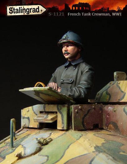 French Tank Crewman, WWI
