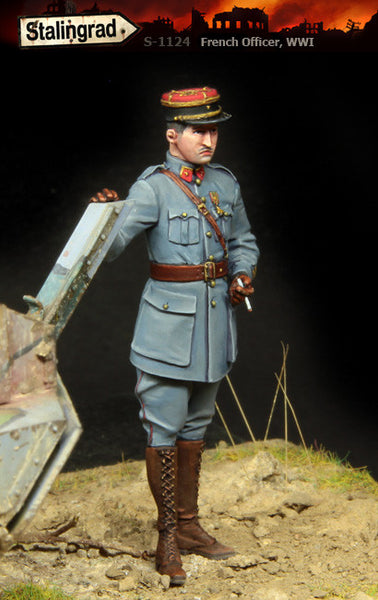 French Officer WWI