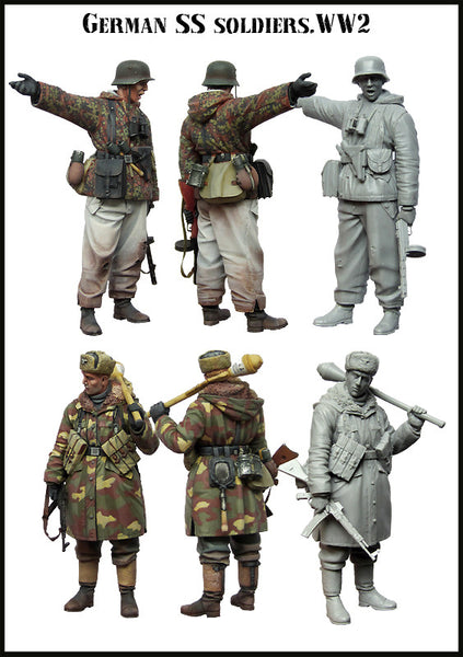German SS Soldiers, WW2