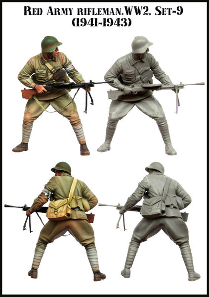 Red Army Rifleman. WW2 Set-9