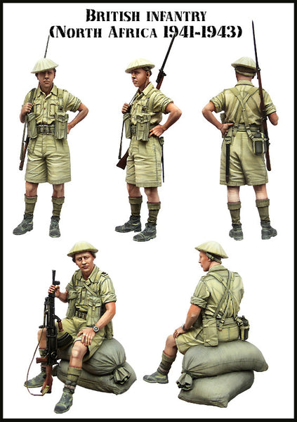 British Infantry. WW2 (North Afrika 1941-43)