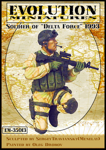 US Delta Force Operator (Somalia 1993)