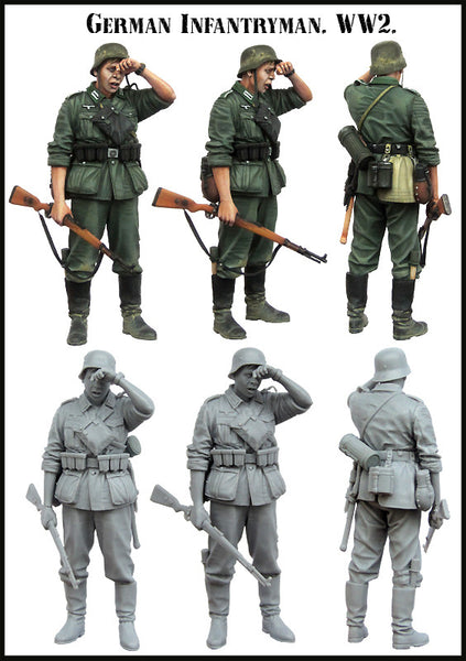 German Infantryman WW2