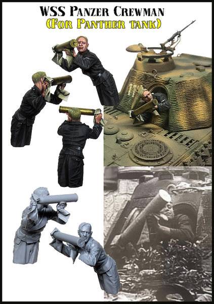 EM35177 WSS Panzer Crewman (for Panther Tank)