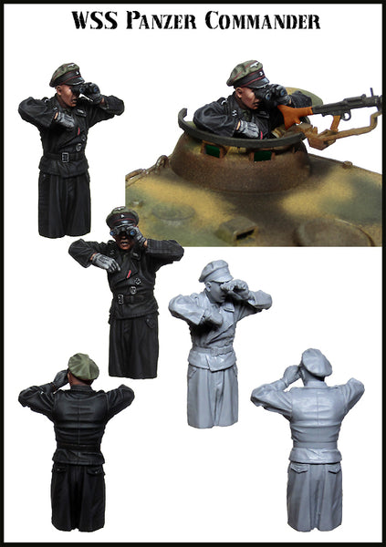 EM35176 WSS Panzer Commander (For Panther Tank)