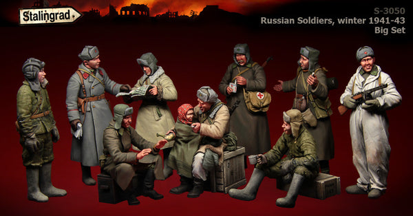 BigSet Russian Soldiers Winter 1941-43,
