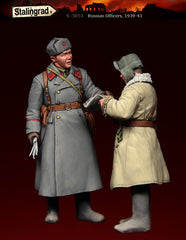 Russian Officers, 1939-43