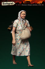 Russian Refugee Woman 1941-45