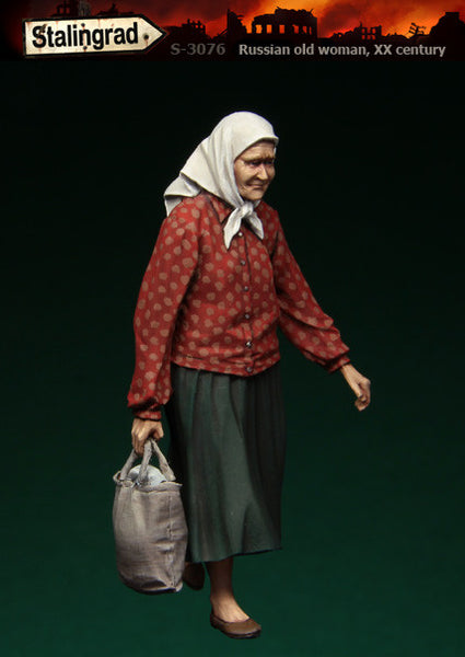Russian Old Woman, 20th Century