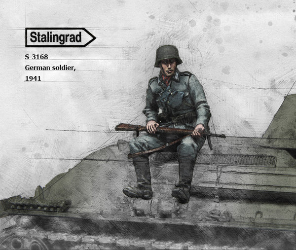 S3168 German Soldier, 1941